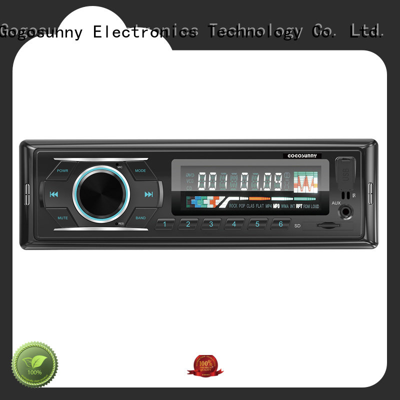 Gogosunny car mp3 with usb fast charging wholesale for car