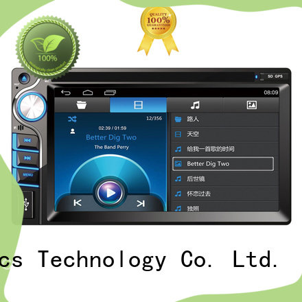 high tech car dvd player with bluetooth function for car
