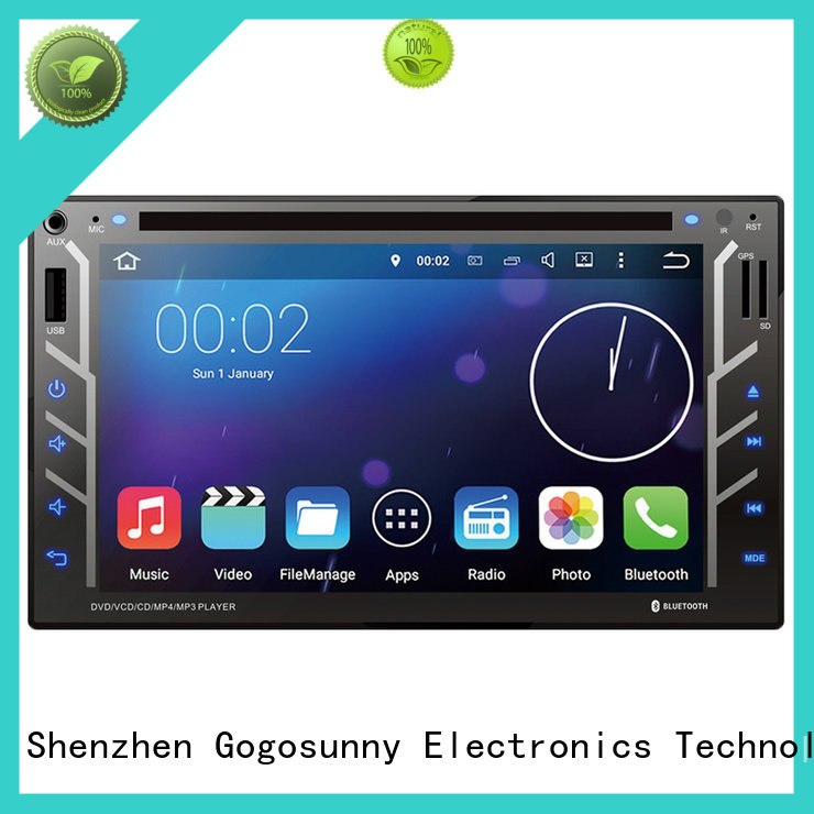 universal car stereo dvd player manufacturing for car