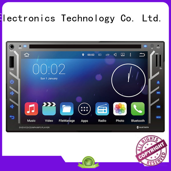 Gogosunny portable car dvd with bluetooth manufacturing for car