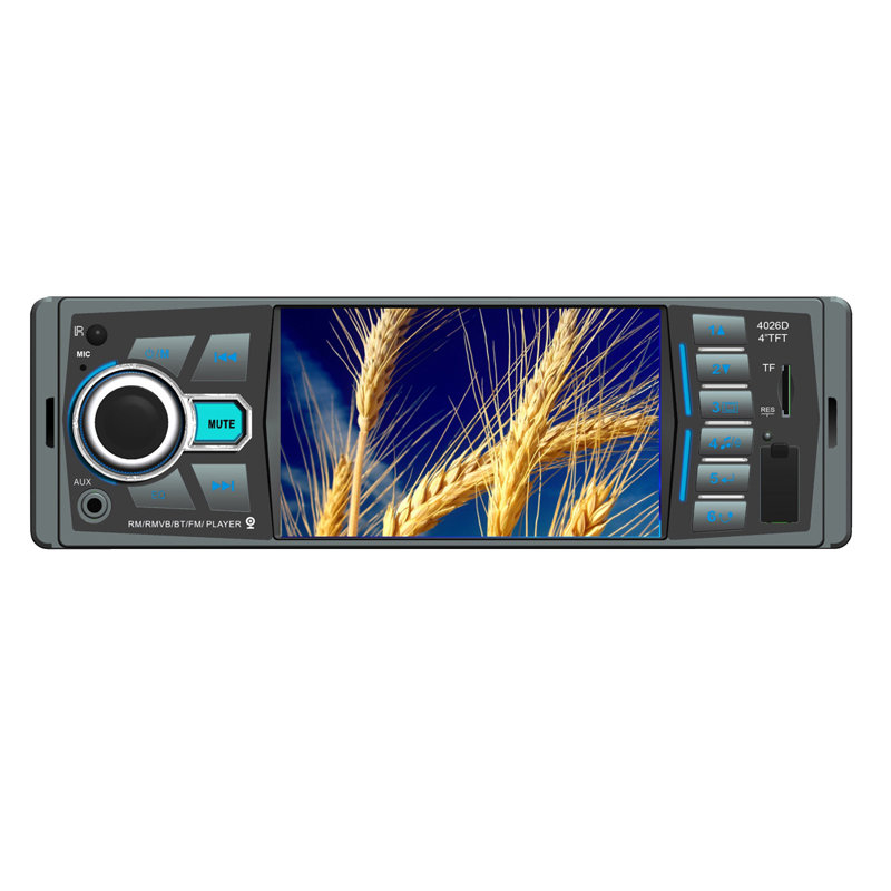 Universal standard 1-DIN AM radio Car MP5(MP4) player for after market with model No. 4026