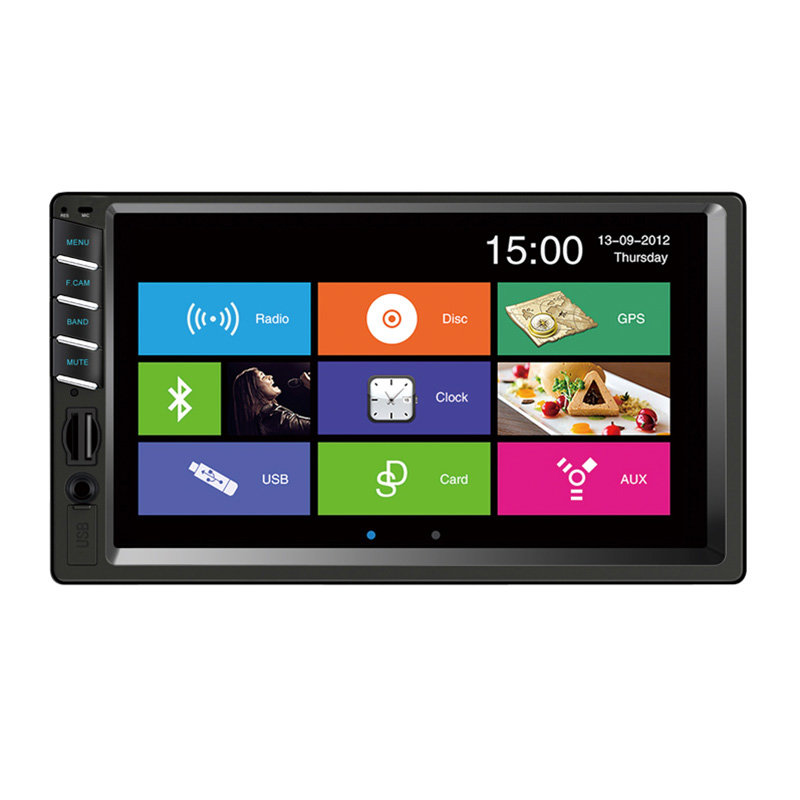 Factory Hot Sale Low price Universal 2 Din 7'' Car Radio MP5(MP4) Player 7035