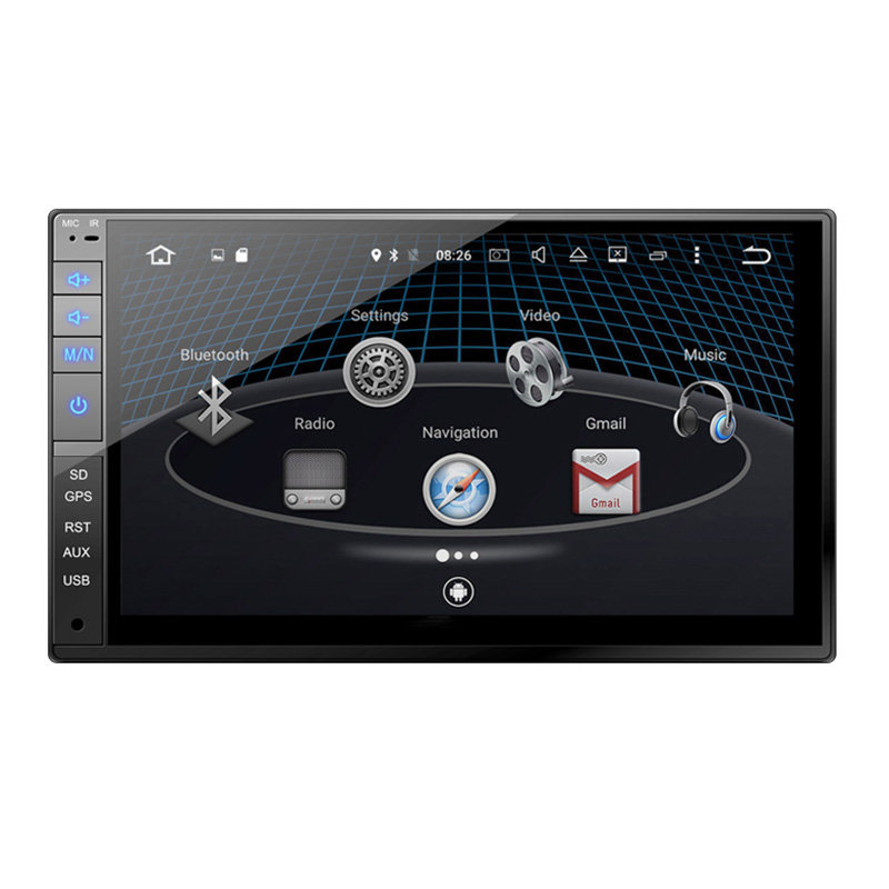 Car Stereo 7 Inch Capacitive FULL touch screen Double Din Car MP5(MP4) Radio 9321A
