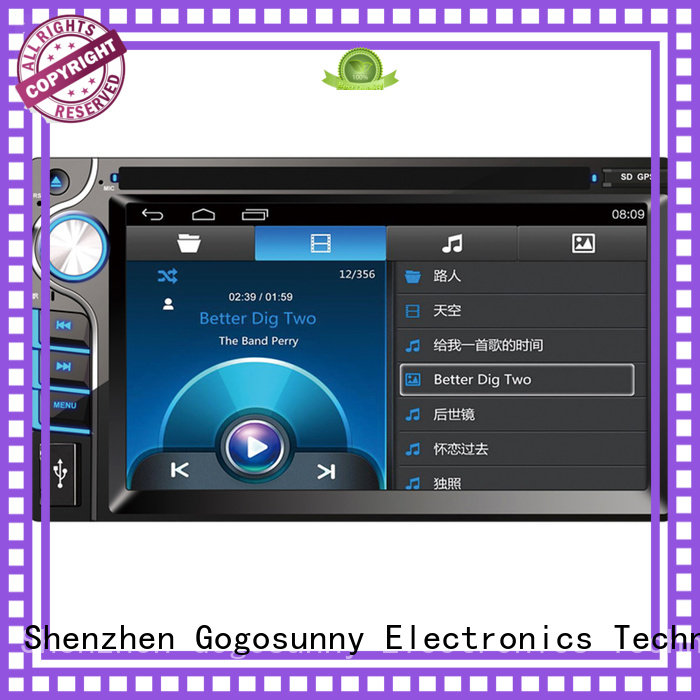Gogosunny dvd car radio for sale for vehicle