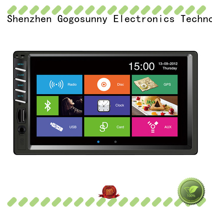 Gogosunny retractable single din Car MP4 function for vehicle