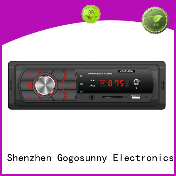 Gogosunny best bluetooth mp3 player for car supplier for truck