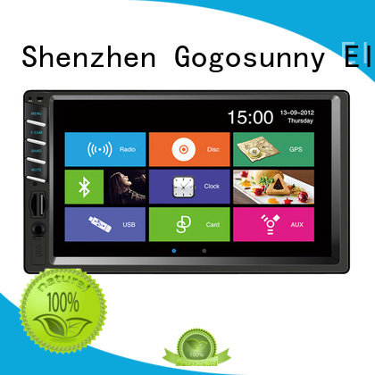retractable touch screen car radio supplier for vehicle