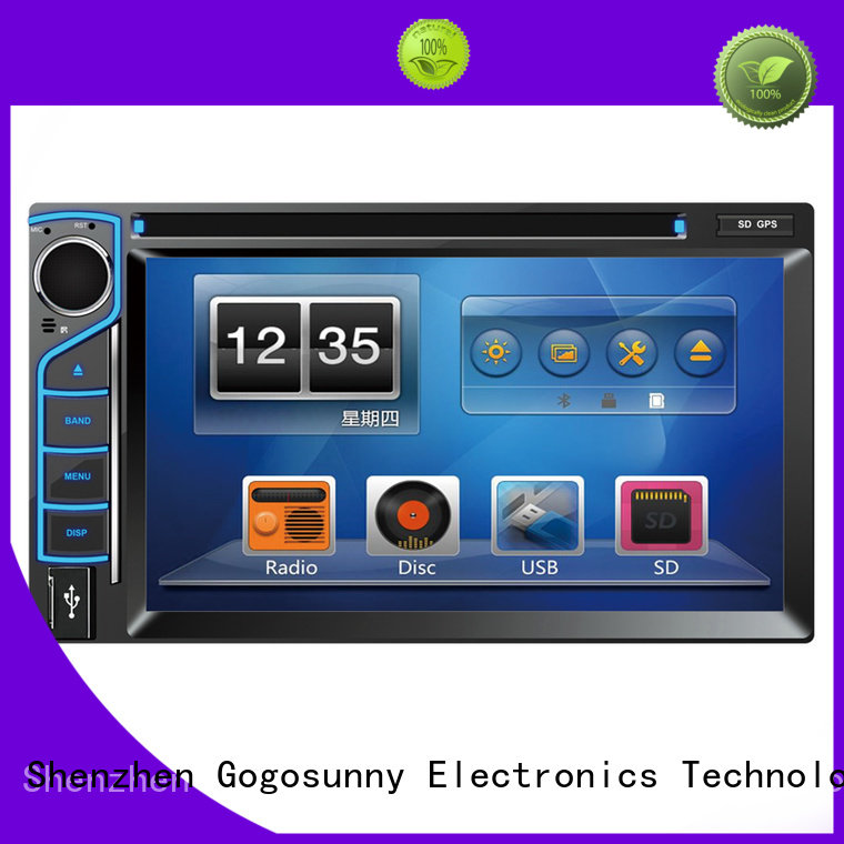 Gogosunny car dvd with touch screen price for truck
