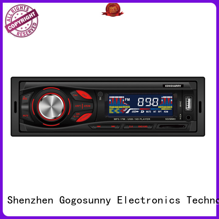 Gogosunny mp3 bluetooth car stereo supplier for truck