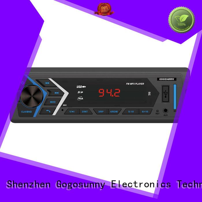 Gogosunny mp3 car audio price for vehicle