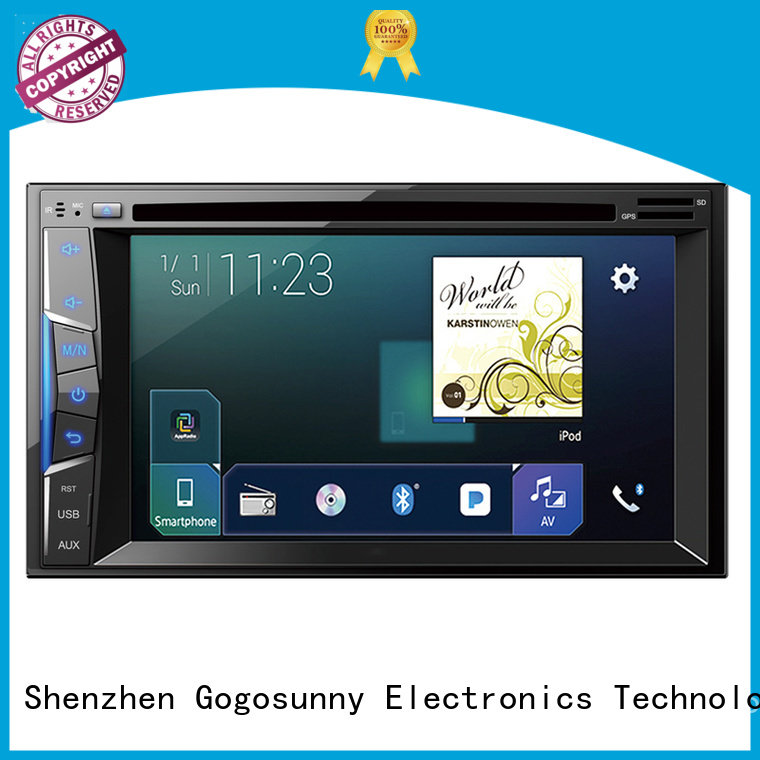 Gogosunny best car dvd player manufacturing for vehicle