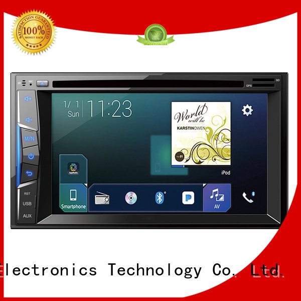 portable car DVD with 6.2inch touch screen manufacturing for truck