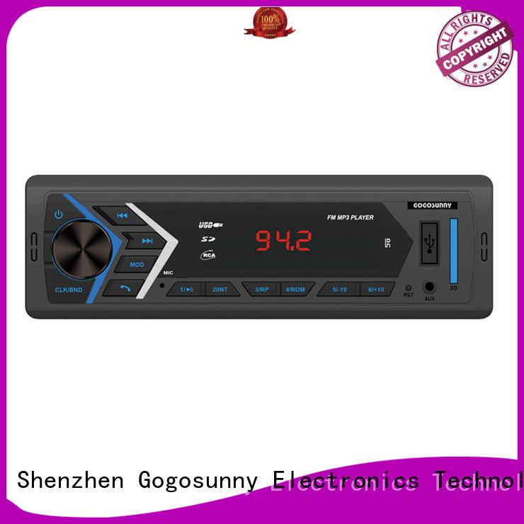 Gogosunny mp3 car audio supplier for auto