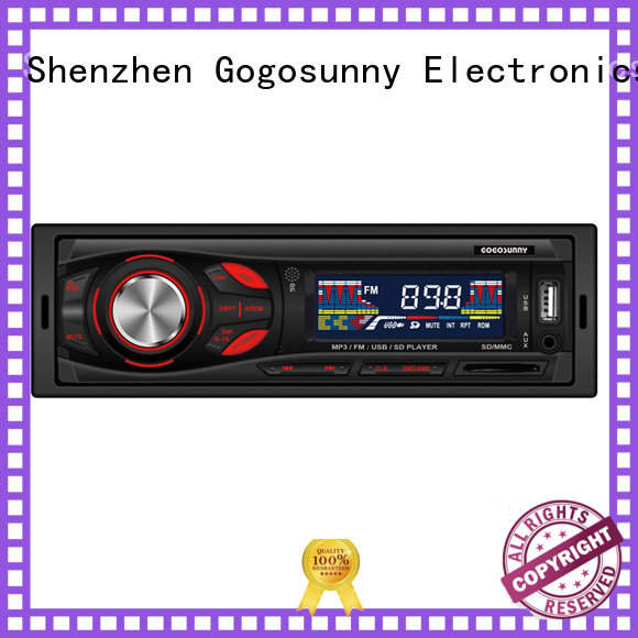 Gogosunny traditional car mp3 with smartphone holder wholesale for car