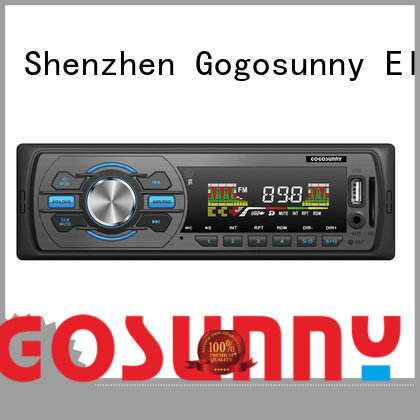 Gogosunny car mp3 with smartphone holder manufacturing for vehicle