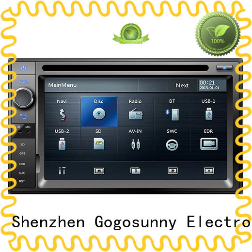 Gogosunny auto dvd player supplier for auto