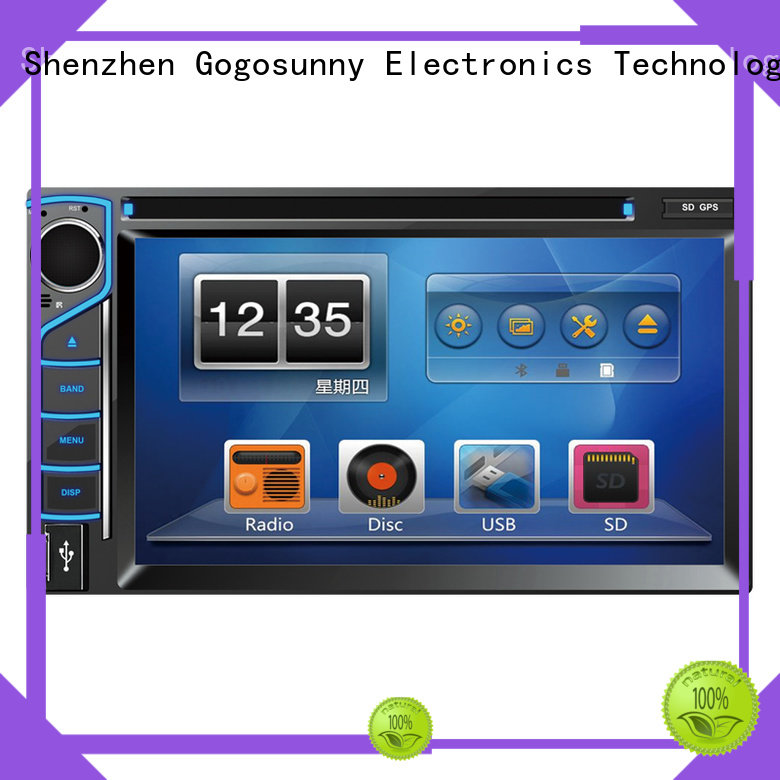 Gogosunny portable car DVD with Mirrorlink function manufacturing for car