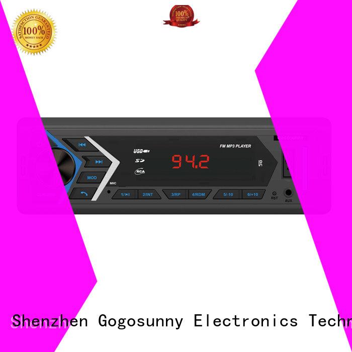 Gogosunny custom auto audio manufacturing for truck