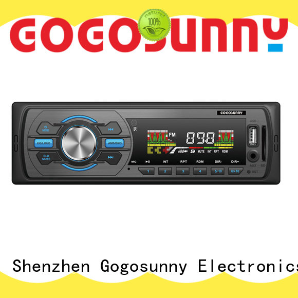 Gogosunny car mp3 player suppliers wholesale for truck