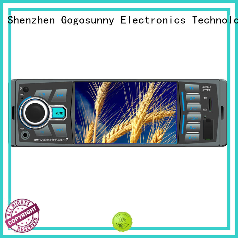 Gogosunny universal 2 din mp5 supplier for auto