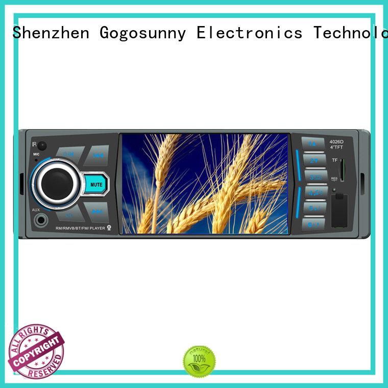 Gogosunny universal 2 din mp5 supplier for auto