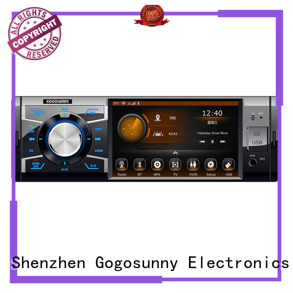 Gogosunny customize touch screen car radio supplier for vehicle