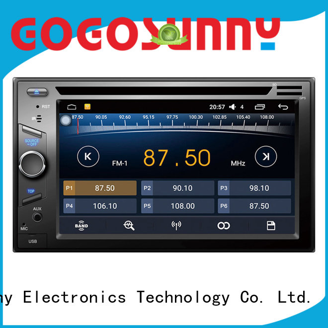 high tech car dvd with radio manufacturing for vehicle