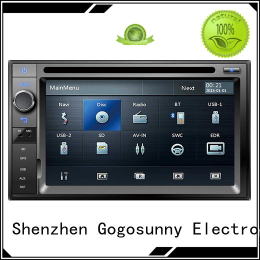Gogosunny high tech best portable dvd player for car function for truck