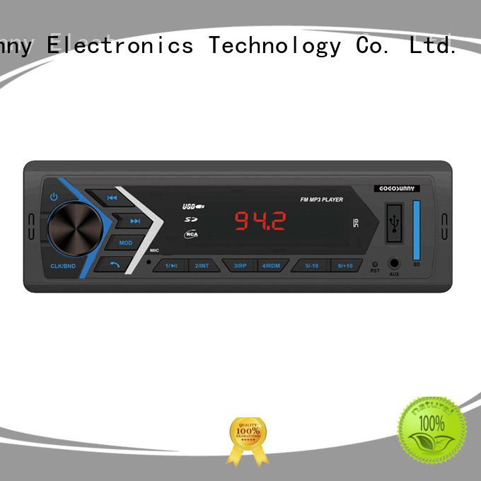 detachable car mp3 with smartphone app control price for vehicle