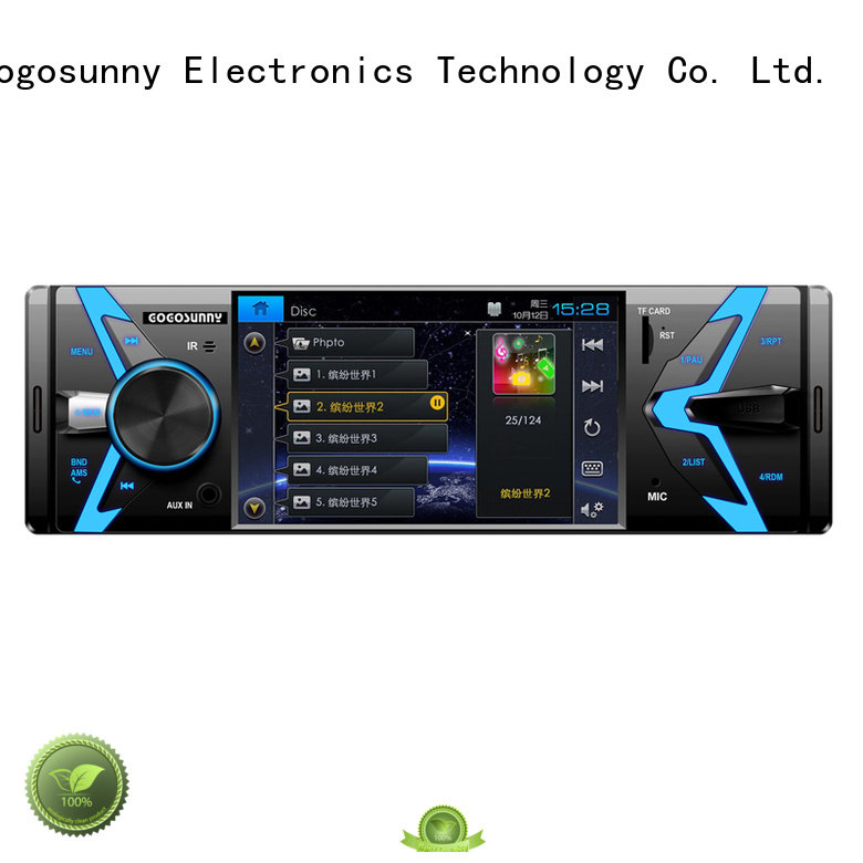 Gogosunny automatic touch screen Car MP4 for truck