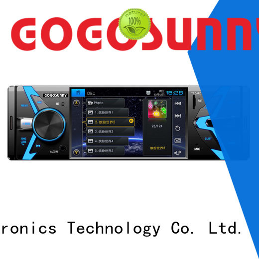 Gogosunny car stereo mp5 player function for vehicle