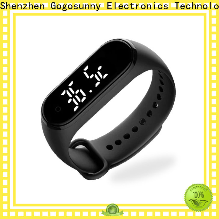 Gogosunny custom best thermometer watch manufacturing for women