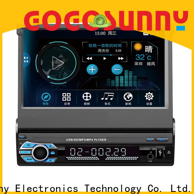 Gogosunny auto radio mp5 for truck