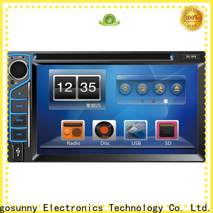 Gogosunny portable dvd stereo system for car manufacturing for vehicle
