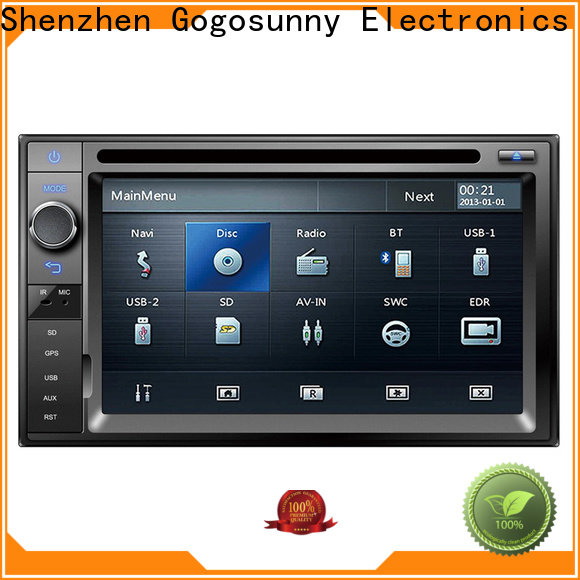 Gogosunny universal car stereo touch screen manufacturing for truck