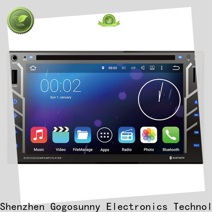 Gogosunny high tech dvd bluetooth car stereo manufacturing for auto