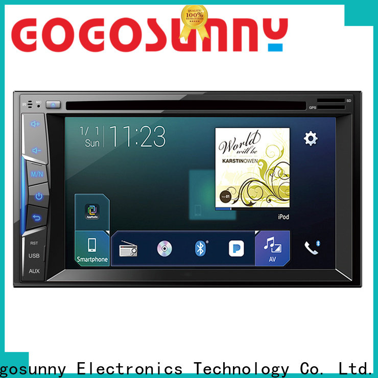 portable car dvd with radio manufacturing for auto