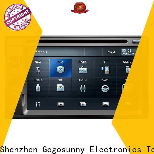 Gogosunny car dvd with touch screen supplier for vehicle
