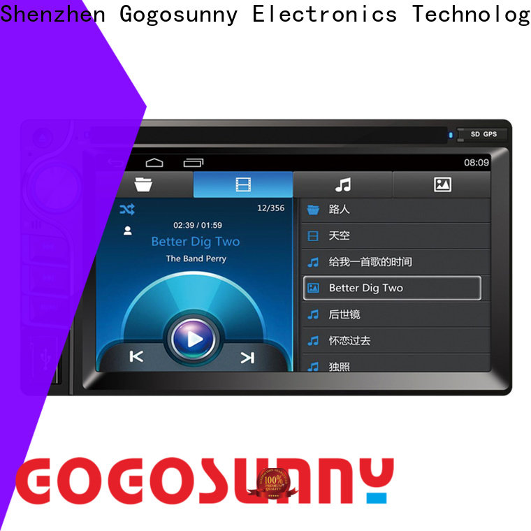 Gogosunny car dvd with bluetooth function for car