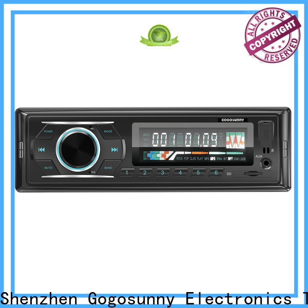 detachable car mp3 player with speakers manufacturing for car