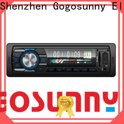 Gogosunny car mp3 player with speakers supplier for car