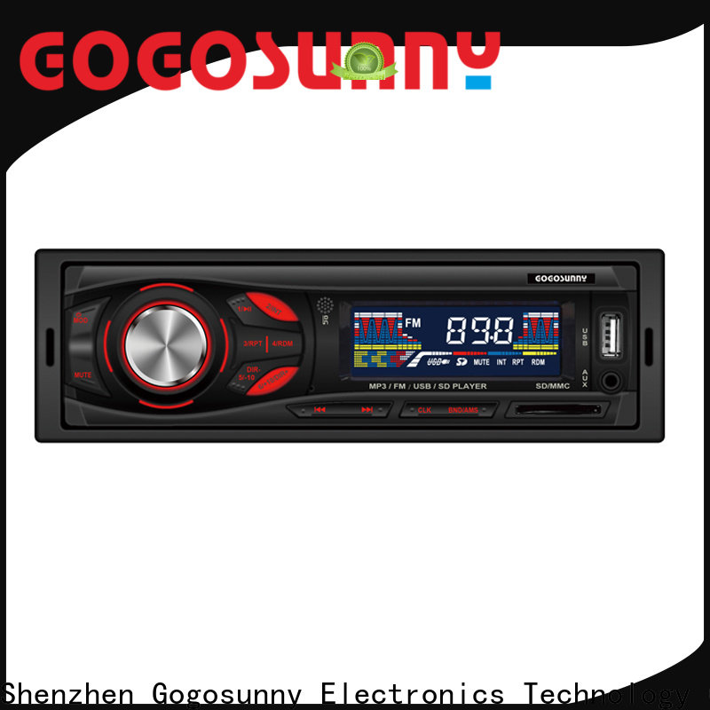 Gogosunny detachable mp3 for car manufacturing for car