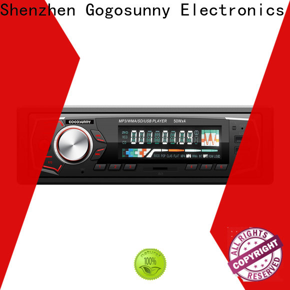 Gogosunny car MP3 with detachable front panel for sale for auto