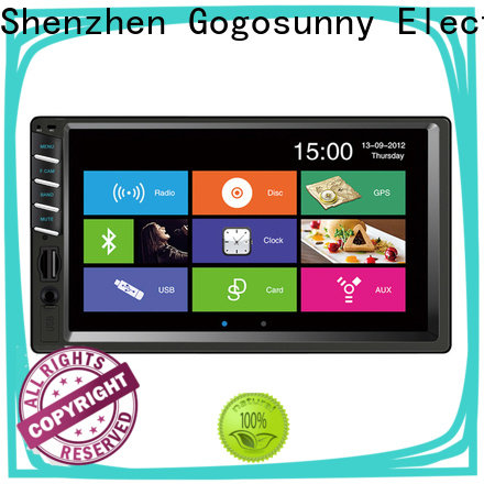 customize 7 inch double din car mp5 supplier for car