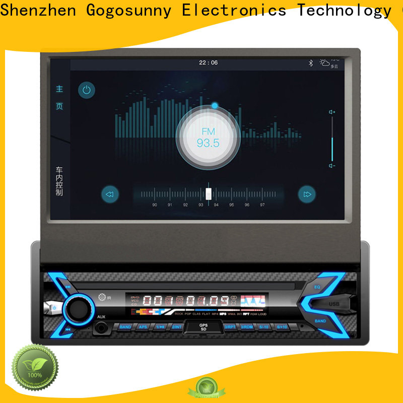 Gogosunny bluetooth car stereo system function for auto