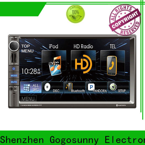 Gogosunny high quality android play car stereo supplier for car