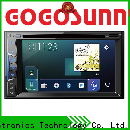 Gogosunny universal car audio dvd player supplier for car