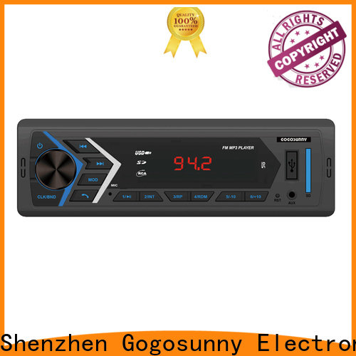 Gogosunny best car mp3 player with speakers wholesale for car