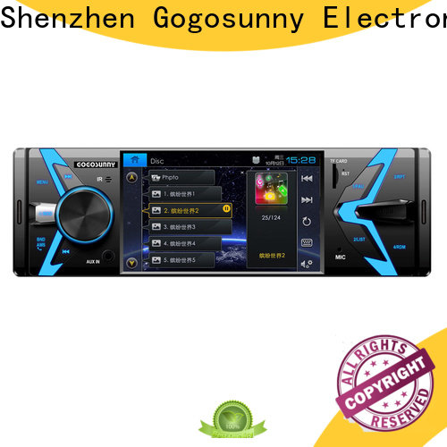 Gogosunny double din car mp5 player price for truck