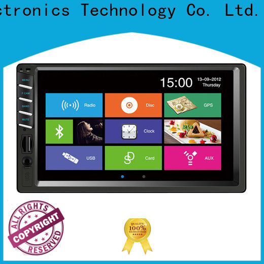 retractable car radio mp5 function for vehicle